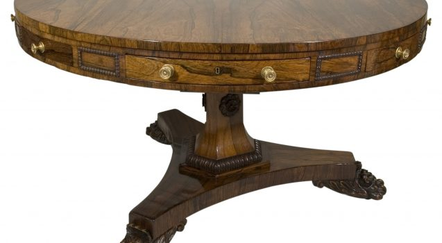 rosewood loo table